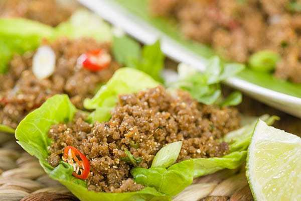 ground-beef-lettuce-salad
